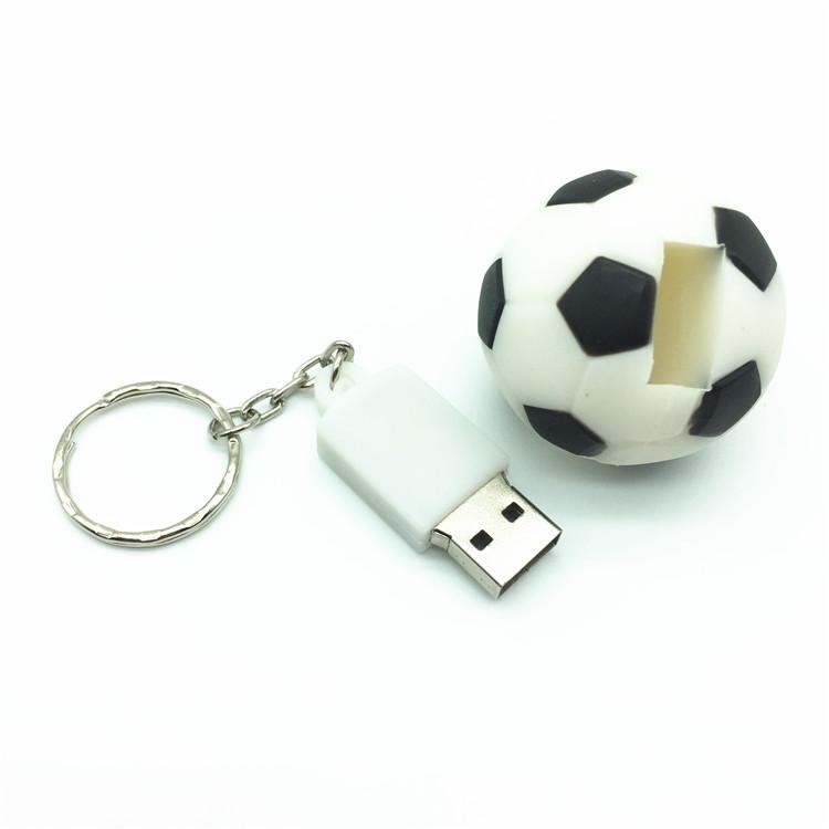 Desenhos animados esportes com bola de futebol e basquete usb flash ... 09d60bd0b9a44