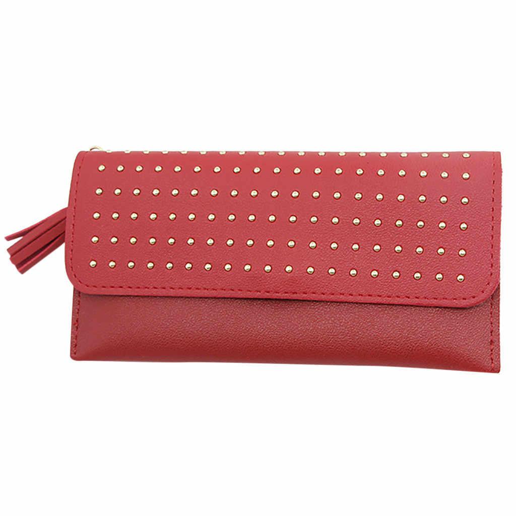 2019 Модный маленький кошелек Для женщин бумажник для кредитных карт для монет, денег Длинные Мини Женский кошелек Роскошные дизайнерские женские ботинки на молнии женские кошельки