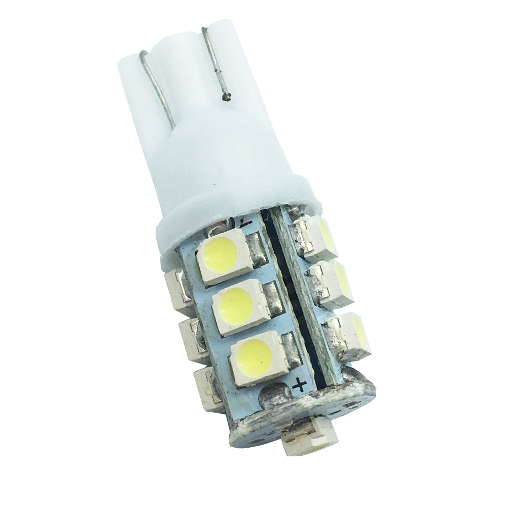 Post Free!! <font><b>100x</b></font> <font><b>T10</b></font> 1210 13 SMD 194 168 W5W 13 Led High Power LED Light Bulb led lamp white Auto Led Light Bulbs Interior image