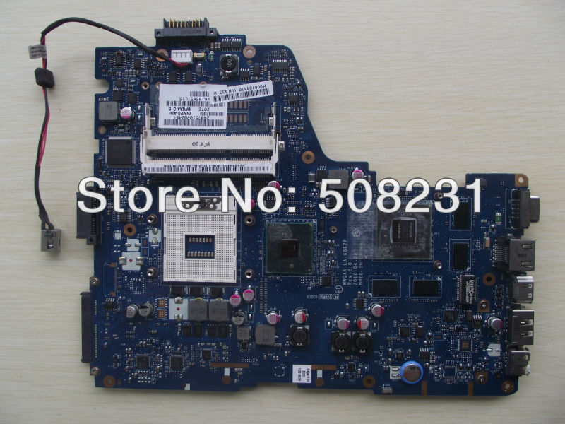 Wholesale K000104430,LA-6062P for Toshiba satellite A660 A665 motherboard,100%Tested and guaranteed in good working condition