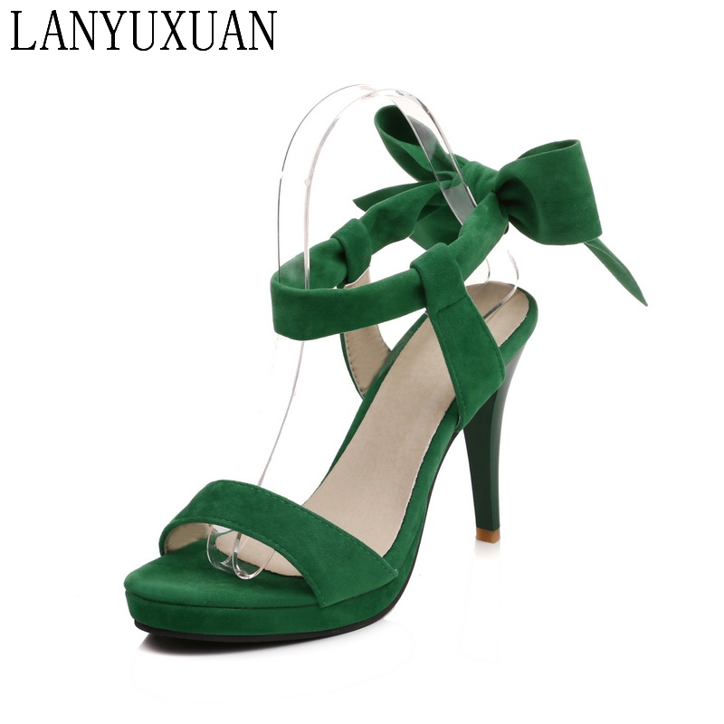 fashion 2017 Ladies Shoes Summer Sandalias Mujer Gladiator Women Big and Small Size 30- 43 Sandals High Heel Women Pumps 9395 summer high quality women flats sandals plus size 34 43 new fashion casual ladies sandalias comfort mujer gladiator woman shoes