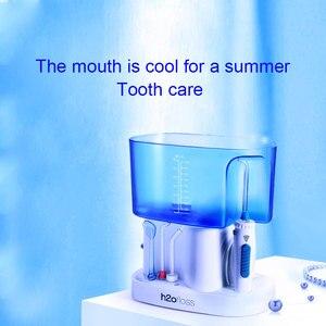 Image 2 - جهاز تنظيف الأسنان بالماء مرواء فموي للأسنان آلة تنظيف المعدات اختيار سبا العناية بالأسنان نظيفة مع 6 نصائح متعددة الوظائف للأسرة