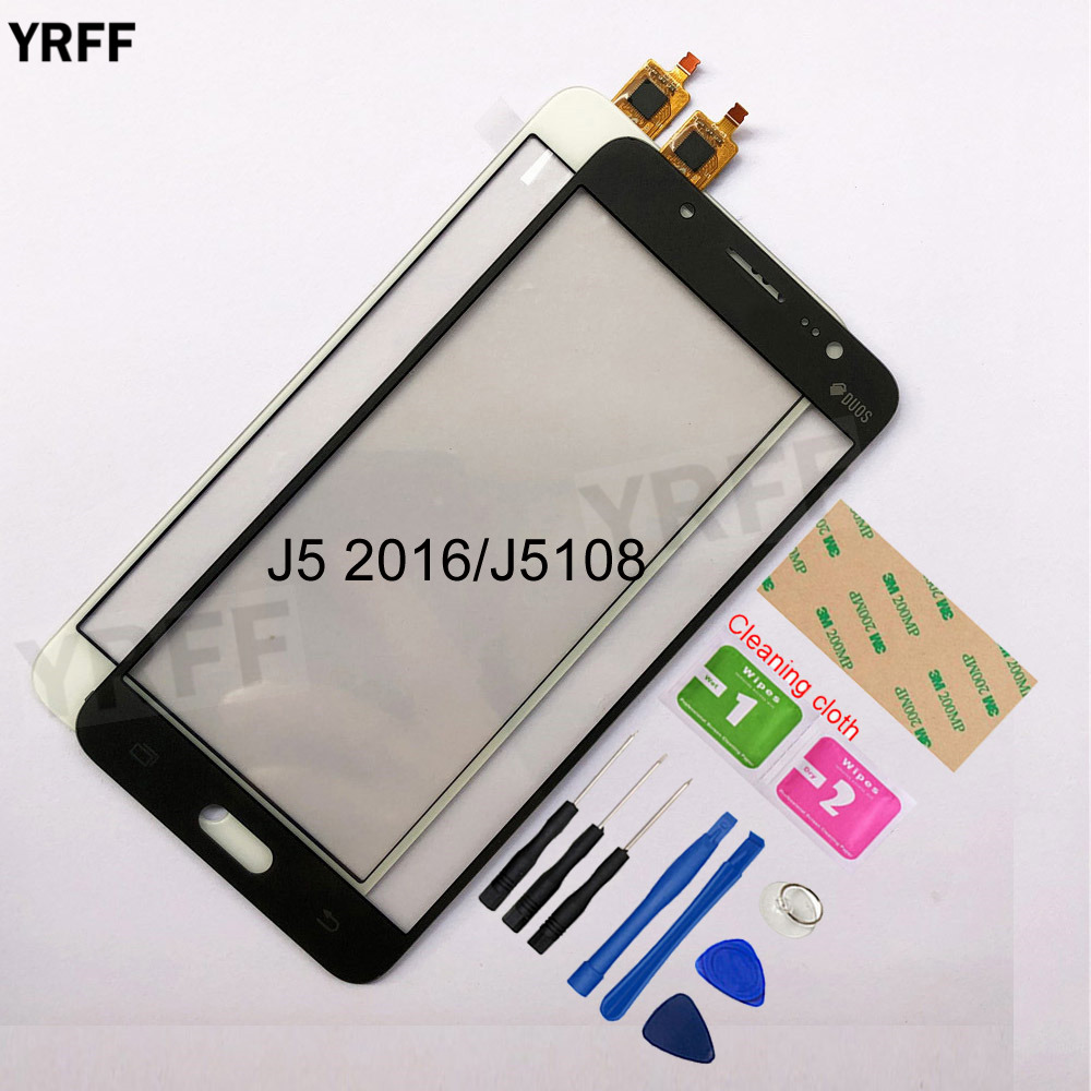 5.2'' For Samsung Galaxy J5 2016 J5108 J510 Touch Screen Digitizer Sensor Touch Glass Lens Panel