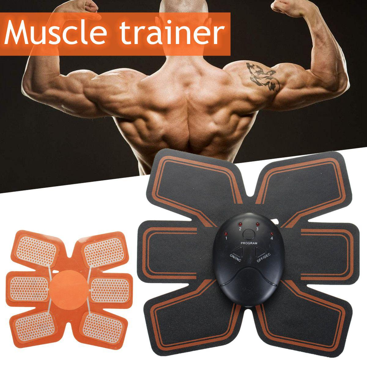 New Sports Electric Abdominal muscle Trainer body Massage Fit Training Exercise abdominal muscles Loss Slimming abdomen Massager electric abdominal muscle trainer body massage fit training exercise abdominal muscles loss slimming abdomen massager