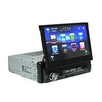 Новый RM CW0013 1Din автомобиля 7 дюймов выдвижной Экран MP5 стерео аудио плеер мобильного телефона зарядки Автомобильный мультимедийный am/fm радио