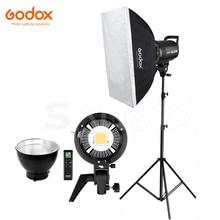 Godox SL 60W SL 100W SL 150W SL 200W LED וידאו אור 60*90 cm Softbox 2.8 m Stand ערכת 5600 K SL60W SL100W SL150W SL200W תאורה