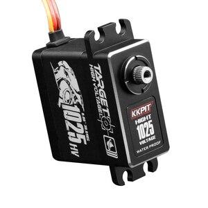 Image 4 - KKPIT HV CLS 1025 SERVO DIGITAL resistente al agua IPX6 de Metal de alta tensión, 25KG, 7,4 V, 0,08 s, para Buggy de control remoto, camión monstruo, escala sobre orugas