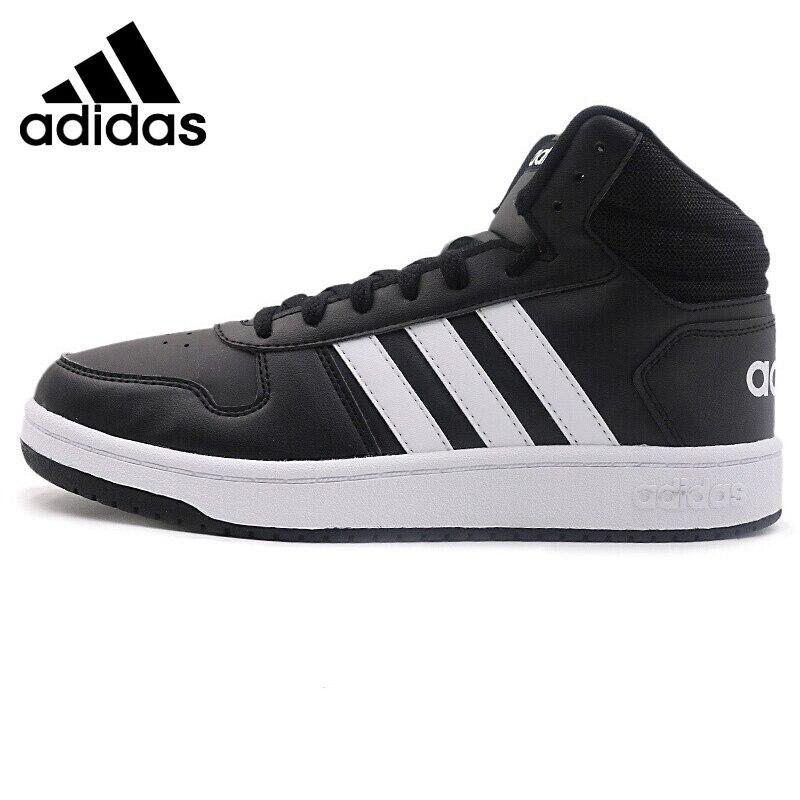 US $94.36 30% OFF|Original New Arrival Adidas Neo Label HOOPS 2.0 MID Men's  Skateboarding Shoes Sneakers|Skateboarding| - AliExpress