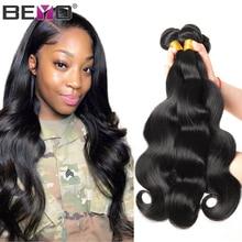 Body Wave Bundles Brazilian Hair Weave Bundles Natural Color 100% Human Hair Bundles 1/3/4 Bundle Deals Non-Remy Hair Weave Beyo
