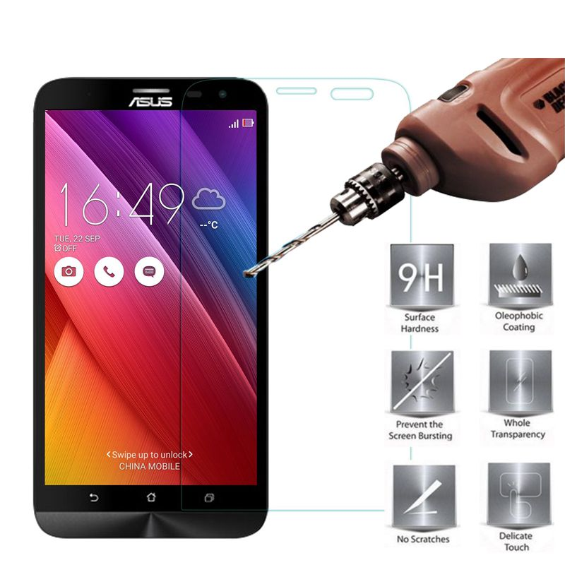 MRGO Store Tempered Glass Screen Protector for Asus Zenfone 2 Laser ZE550KL for Zenfone 2 Laser ZE500KL for Zenfone 2 Laser ZE601KL Glass