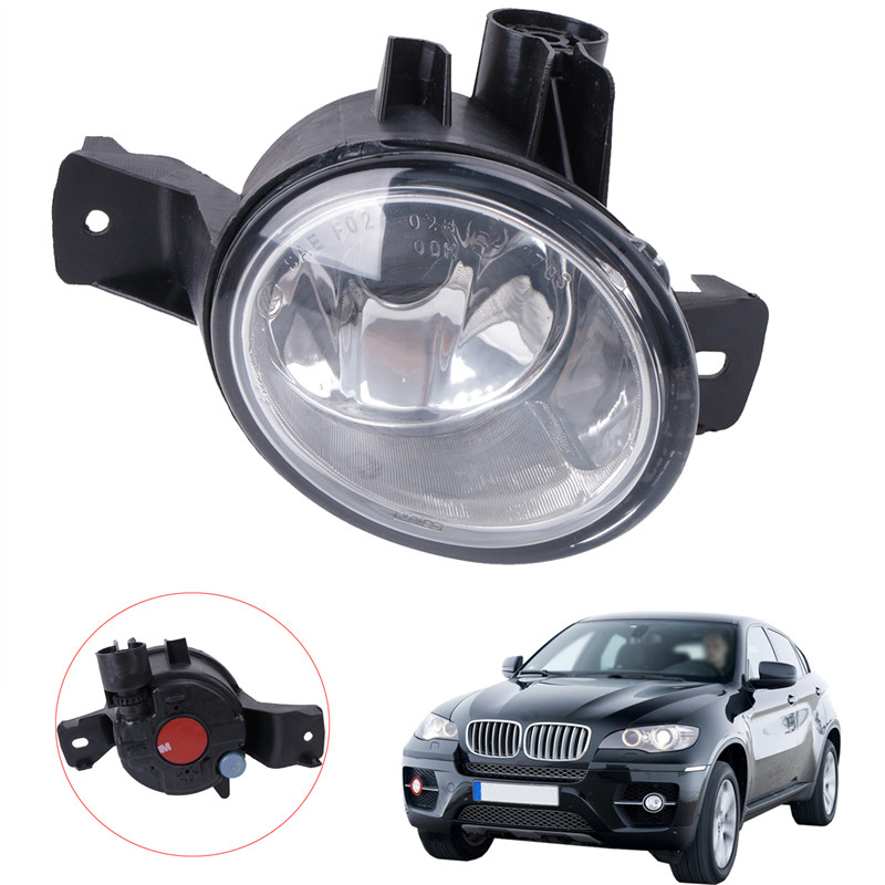 Right Side Car Front Bumper Fog Light Foglamp For BMW E71 E72 X6 2008 2009 2010 2011 2012 Part Number 63177187630 #W090-R for vw touareg 2003 2004 2005 2006 2007 2008 2009 2010 right side car styling halogen front bumper fog lamp fog light with bulb