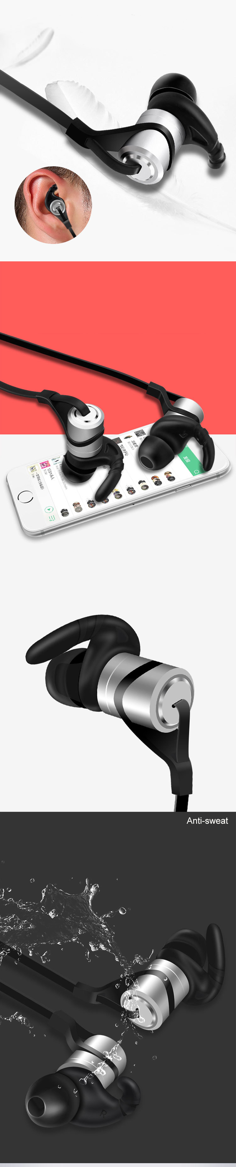 Ubit D9 Bluetooth Earphone (6)