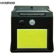 HOWPOW лампы с солнечной батареей 48 Светодиодный Водонепроницаемый IP65 Сенсорная лампа инфракрасные датчики лампы открытый забор освещение путь стены