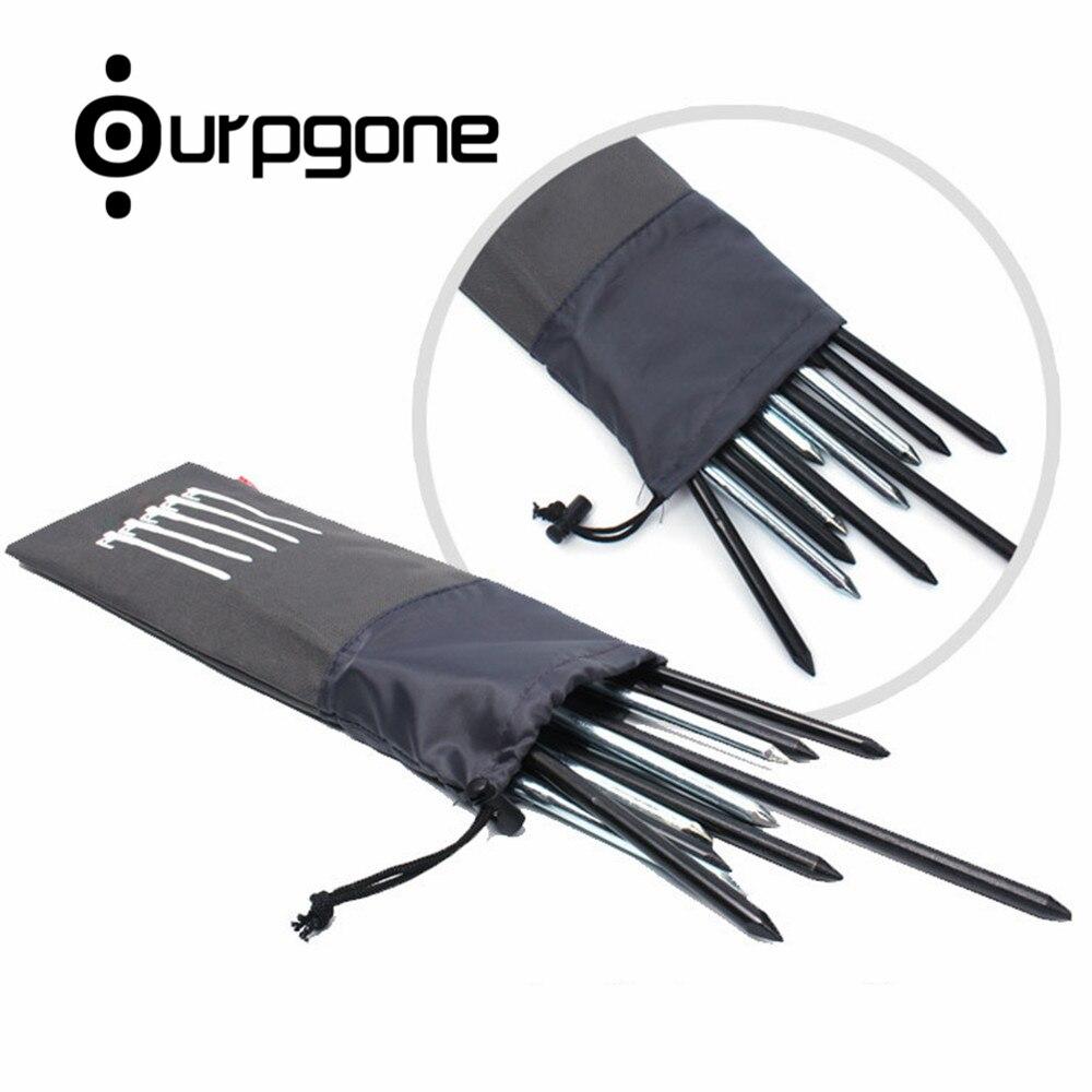 3 Stücke Outdoor Zelt Peg Aufbewahrungstasche Hammer Organisieren Tasche