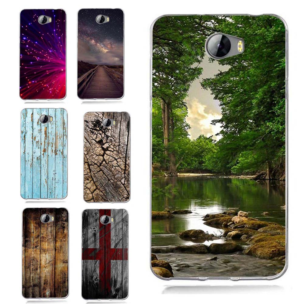 Case For Huawei Y5 ii Y5ii Cover/5A LYO-L21/Y6 II Compact TPU Coloful Soft Sky Landscape ...