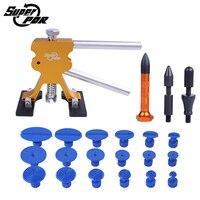 Super PDR Tools Paintless Dent Repair Tool For Car Kit Dent Lifter Hail Damage Repair Tools