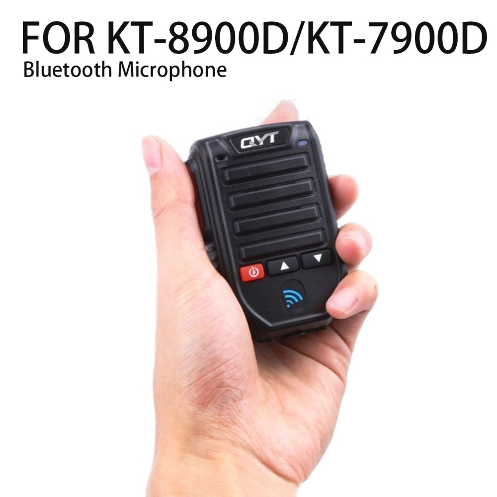 QYT BT-89 De Poche Sans Fil Bluetooth Microphone Pour KT-8900D KT-7900D