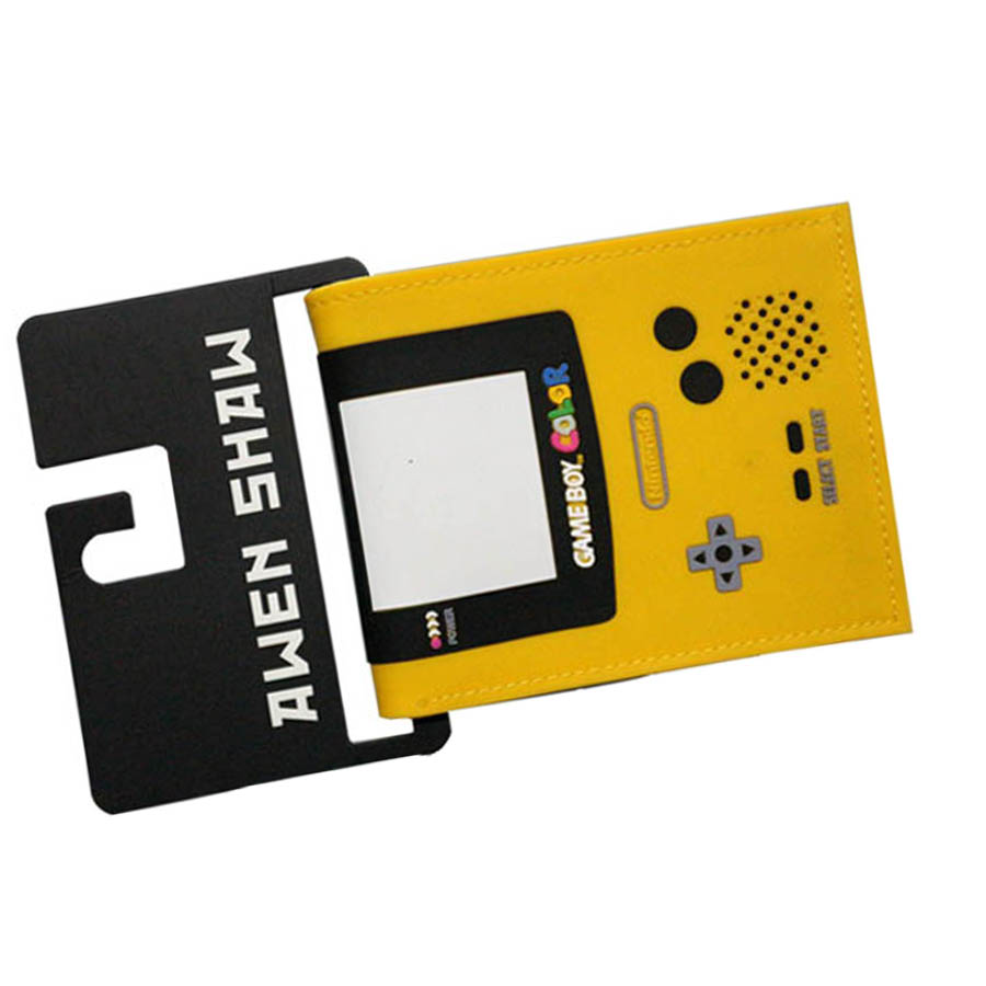 2017 New Arrival Handle Nintendo Game Boys Slim Mens Wallets Colorful Womens Purse Money Pocket Zipper Coins Balsos Cards Holder nintendo gbc game video card pokemons classic collect classic colorful edition
