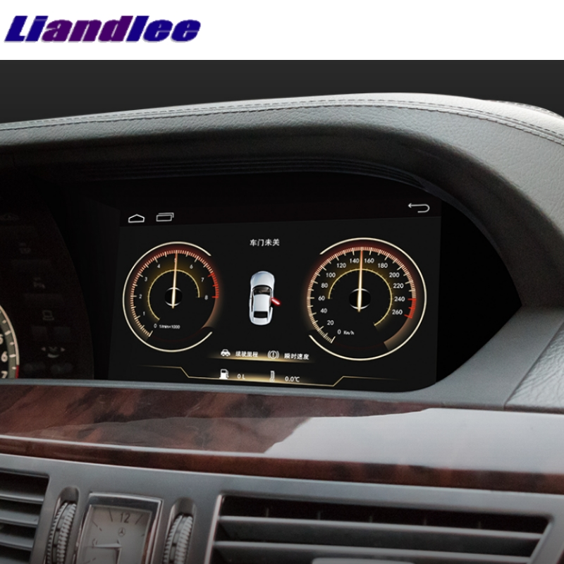 Liandlee Car Multimedia Player NAVI 2GRAM For Mercedes Benz S W221 S280 S320 S400 S63 2006~2013 Accessories Radio GPS Navigation ouchuangbo android 7 1 car gps radio recorder for mercedes benz s w221 s280 s320 s400 s600 s63 2006 2013 with 8 core 2gb 32gb