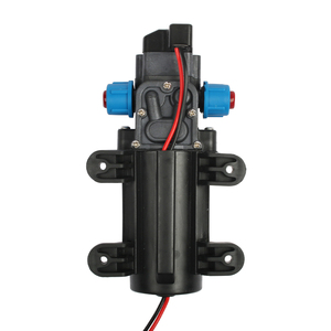 Image 5 - DC 12V 60W מיקרו חשמלי דיאפרגמה משאבת מים אוטומטי מתג 5L/min בלחץ גבוה מכונית כביסה תרסיס מים משאבת 0.8Mpa 5L/min
