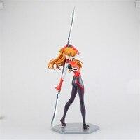 Figura del anime Neon Genesis Evangelion EVA Soryu Asuka Langley Plugsuit Sexo Figuarts Figura de Acción DEL PVC Modelo Juguetes Regalos 28 cm