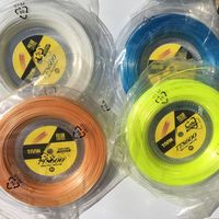 TOP quality ,made in Germany 1reel/lot TAAN TT8600 six angels Tennis String 200M Polyester string/Polyester strings