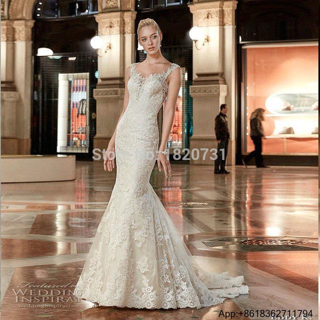 Vestidos De Novia Bridal Gown Rustic Women Korean Vintage Sexy