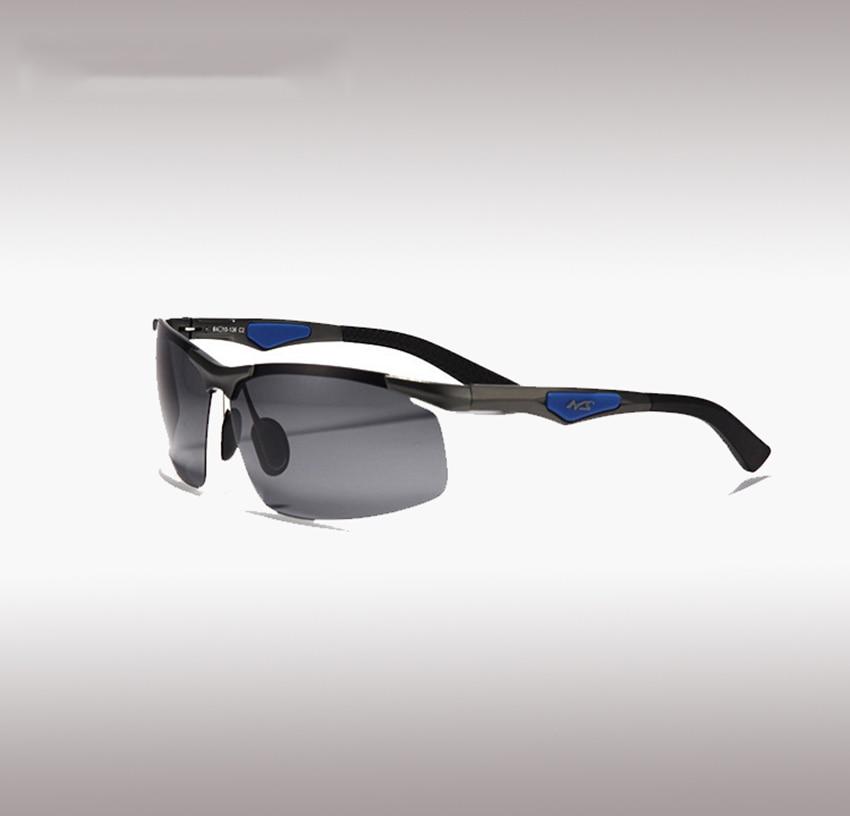 11319601cc3d Polarized sunglasses male glasses Half Framework Aluminum Magnesium Alloy  men sun glasses UV400 protection sports eyewear-in Fishing Eyewear from  Sports ...