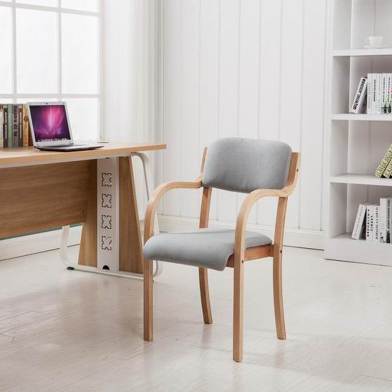 Assembled Solid Wood Chair Specials Computer Simple Single Chair Beech Assembly Fashion Handrail Continental Chair стоимость