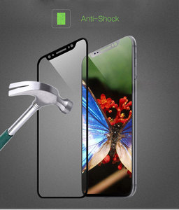 Image 3 - 3D Ad Alta Allumina Vetro Temperato per Il Iphone X 9H Completa Dello Schermo Della Copertura Della Pellicola Della Protezione Dello Schermo a Prova di Esplosione iphone Xs Iphonex