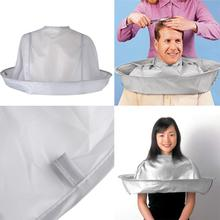 1PC Adult Foldable Hair Cutting Cloak Umbrella Cape Salon Waterproof  for Special DIY Accessory Dropship