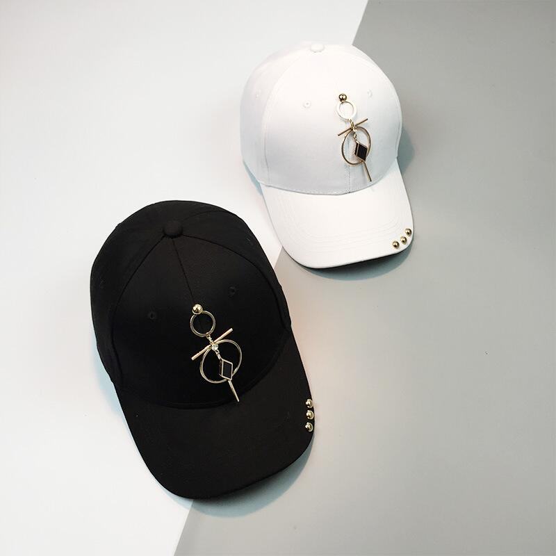 2017 New Cap Gorras Embroidery Ring Snapback Male Bone Baseball Cap Fashion Cap Hat Men And Women jewelry Hip Hop Hats [flb] letter new brand golf hats hip pop hat fashion baseball sports cap suede snapback gorras hombre solid for men and women