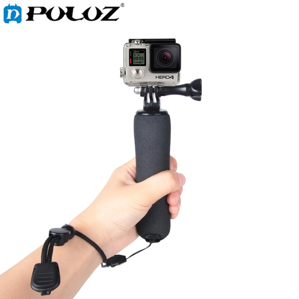 For Go Pro Accessories Bobber Floating Handle Grip Mini Tripod monopod Mount for GoPro HERO5 HERO4 Session HERO 5 4 3+ 3 2 1