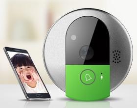 Vstarcam Doorcam C95 IP Door Camera Eye HD 720P Wireless Doorbell WiFi Via Android Phone Control Video Peephole Wifi Door Camera-in Doorbell from Security ... & Vstarcam Doorcam C95 IP Door Camera Eye HD 720P Wireless Doorbell ...