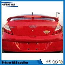 ABS грунтовка Неокрашенный задний багажник спойлер подходит для Chery A3 седан спойлер с светодиодный светильник