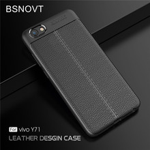 For Vivo Y71 Case Shockproof Soft Silicone TPU Leather Anti-knock Phone Case For Vivo Y71 Cover For Vivo Y71 Funda 5.99