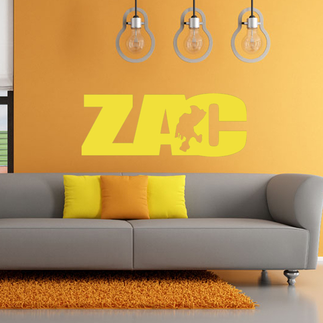Zach Zacatecas, Mexico State Map Art Deco Vinyl Wall Stickers Living ...