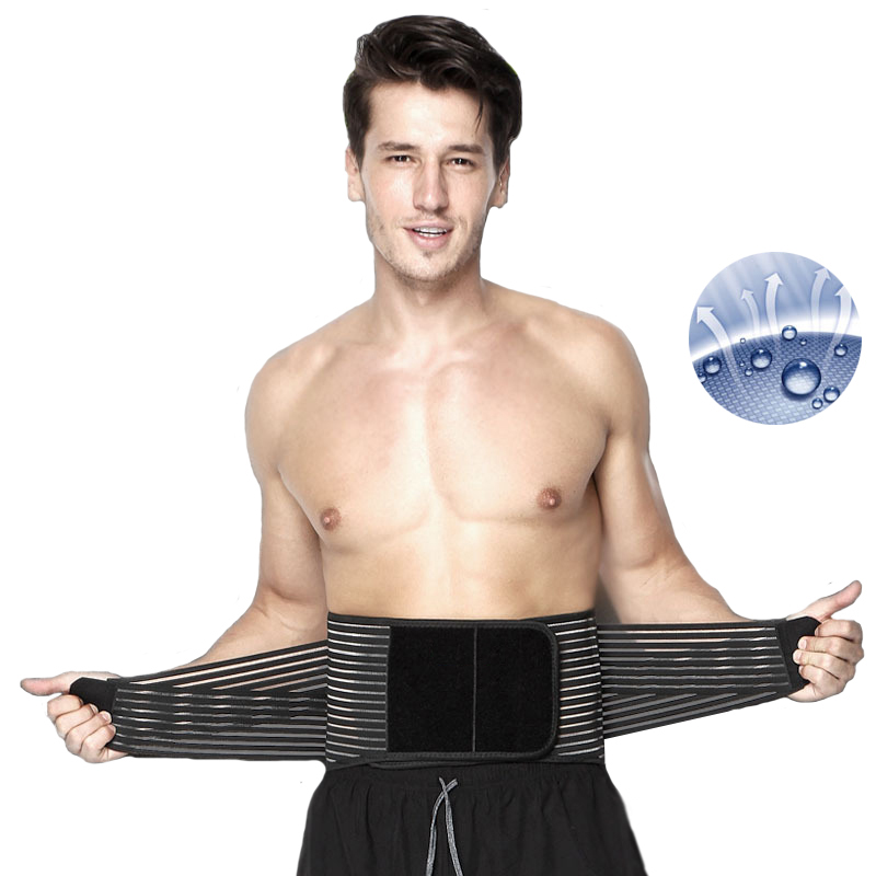 Self Heating Waist Protection Belt Adjustable Double Pull Lumbar Brace Pain Relief Magnetic Therapy Massage Belts