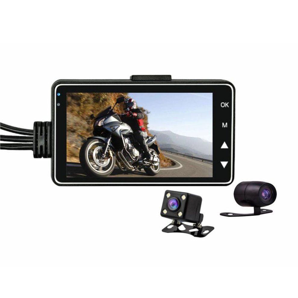 Hd Waterproof Driving Recorder Cycle Video Professional Fashion Car Black Box Motorcycle Recorder Se600