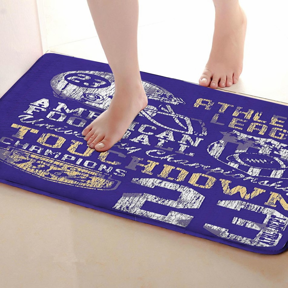 23 Style Bathroom Mat,Funny Anti skid Bath Mat,Shower Curtains Accessories,Matching Your Shower Curtain