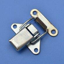free shipping metal hasp 5818c iron buckle luggage lock industrial fastener bag hardware air box tool case equipment