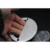 Free Shipping Furniture Handle Knob Stainless Steel Handle Cabinets Wardrobe Handle Drawer Dark Brushed Handle Hardware