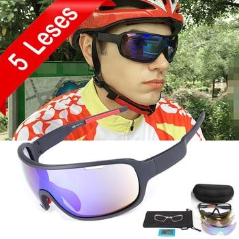 bfbb9cbf1d NEWBOLER 5 lente ciclismo gafas de sol polarizadas de las mujeres de los  hombres UV400 deporte gafas de bicicleta de carretera gafas, gafas de  ciclismo para ...