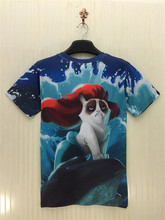 Mermaid Cat T-Shirt
