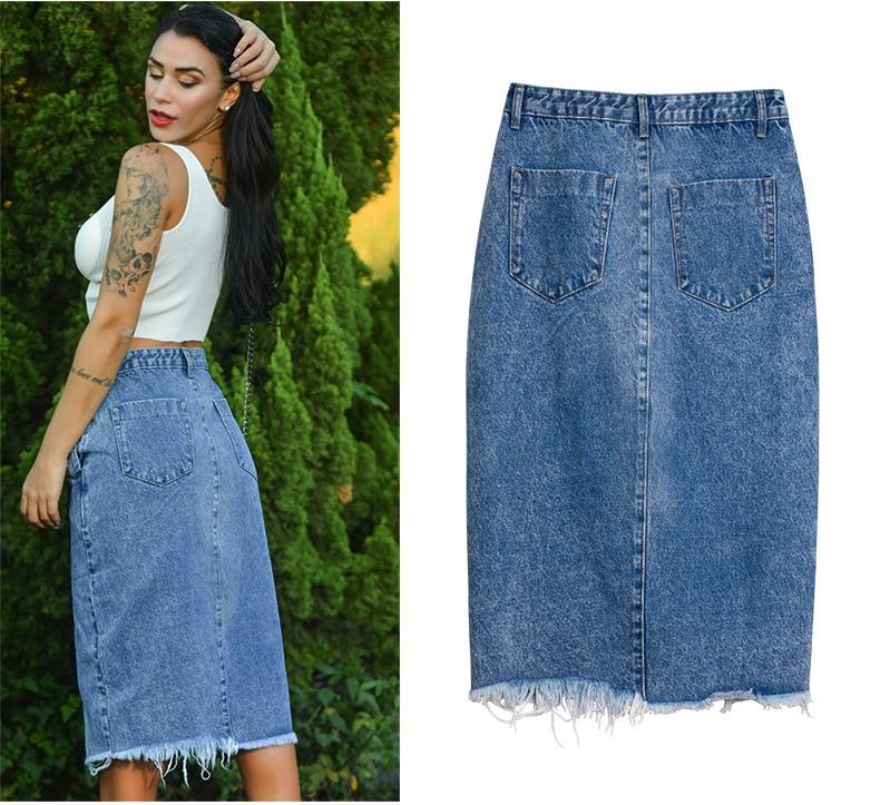 Skirt of female skirt hairline furl furl to wrap hip bull-puncher skirt irregular tassel tall waist skirt of halter MIDI skirt (12)