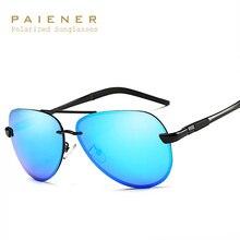 De aluminio Y Magnesio gafas de sol Polarizadas de los hombres diseñador de la marca Deportes Conductor Espejo gafas de Sol Hombre gafas UV gafas de sol hombre