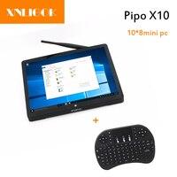 High quality Pipo X10 pro Quad Core Ram Latest Dual Os Quad Core 4GB+64GB HD Pipo X10 Mini Pc/Tv Box