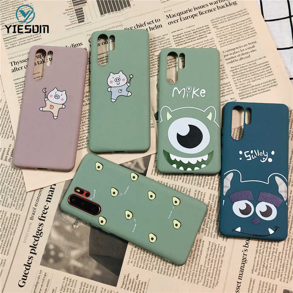 Cute Animal Soft Silicone TPU Phone Case For Huawei P30 Pro P20 Lite P Smart 2019 On Honor 10i 8X V20 Nova 3i 4 Y7 Y9 2019 Cover