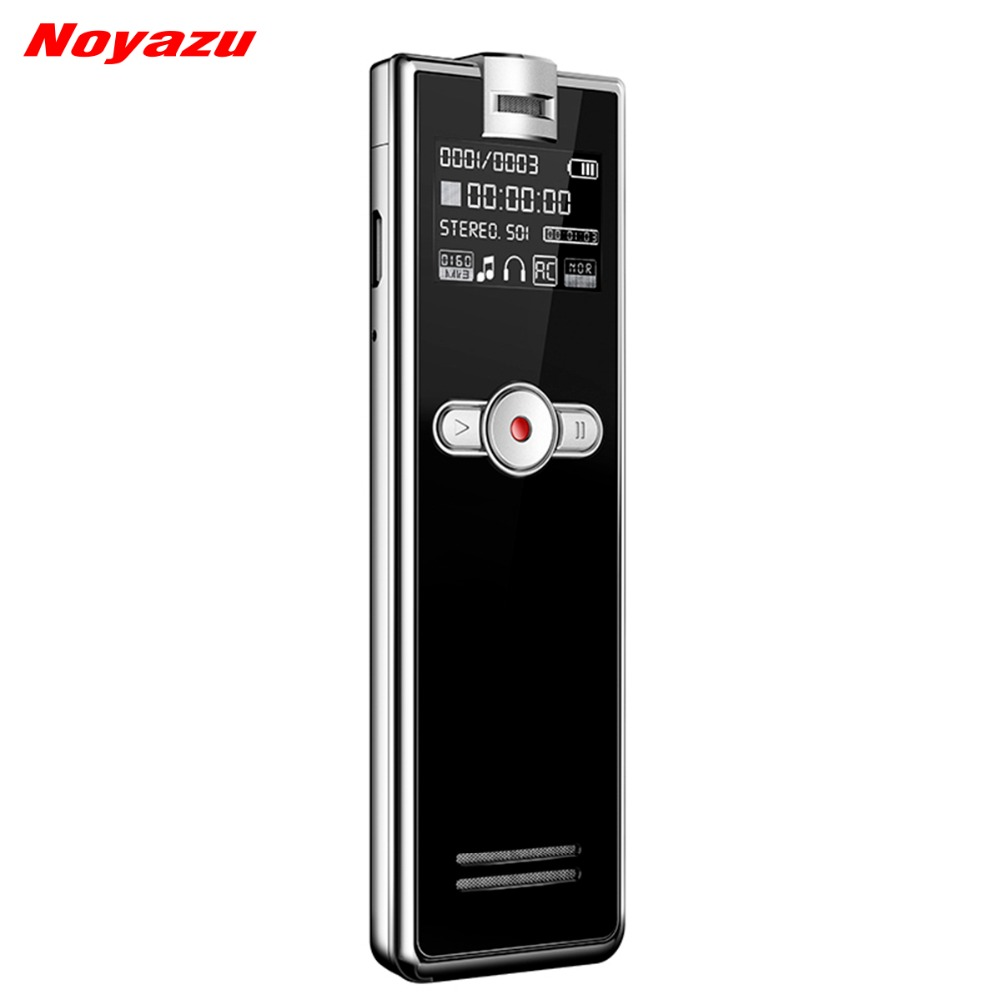 Noyazu F2 Rapide De Charge 8 gb Numérique Audio Voice Recorder Sound Recorder Voix Activé Microphone Dictaphone Téléphone Enregistreur