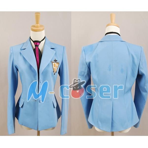 Ouran High School Host Club Full Set School Uniform Costume Anime Cosplay Unisex